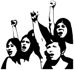 WOMEN SPEAKING OUT FREE CLIP ART